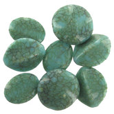 Simulated Turquoise Assorted Bead Mix